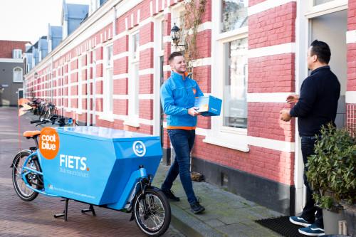 Coolblue bezorging per fiets