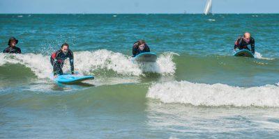 Surf op Scheveningen!
